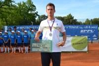 David Poljak je tenisovým vicemistrem