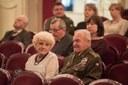 Koncertu se zúčastnili zástupci vojenských organizací.