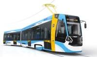 Nové tramvaje mají moderní vzhled