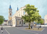 Podoba náměstí Msgre Šrámka se rýsuje