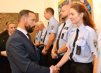 Primátor ocenil věrnost strážníků