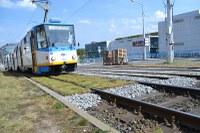 Tramvajové koleje jsou nyní tiché