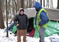 Zimní program pro bezdomovce