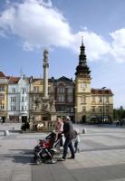Masarykovo náměstí v centru Ostravy