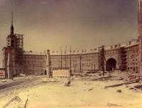 Výstavba sídliště Poruba v 50. letech 20. století