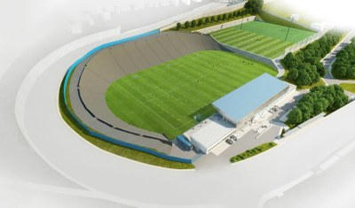Construction of the football academy begins