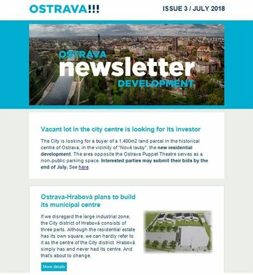 Ostrava Development Newsletter!!!: a new issue is here
