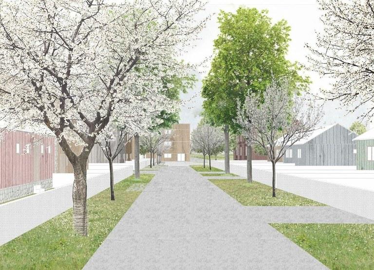 Bývalá kolonie Bedřiška se promění v moderní místo k bydlení