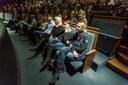 Hlediště DLO při debatě.