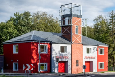 Dobrovolní hasiči z Michálkovic mají zrekonstruovanou zbrojnici