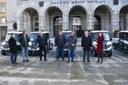 Elektronáklaďáky si převzali starostové pěti ostravských obvodů.