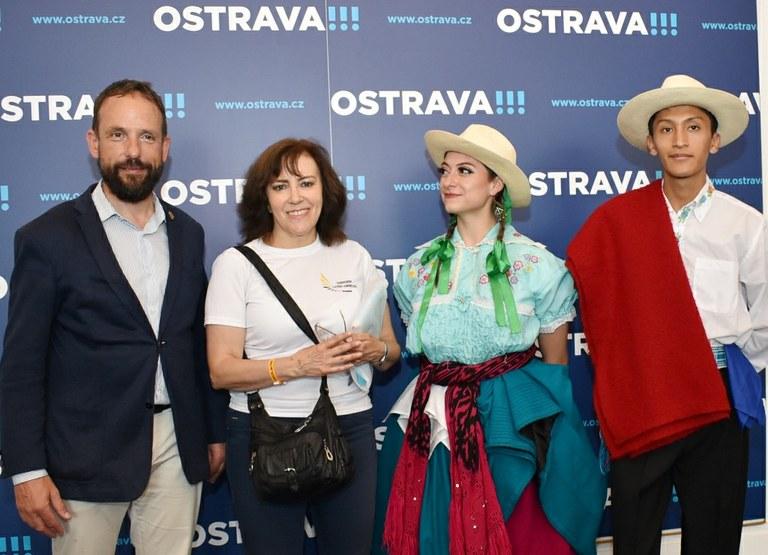 Folklorní festival roztančí Ostravu