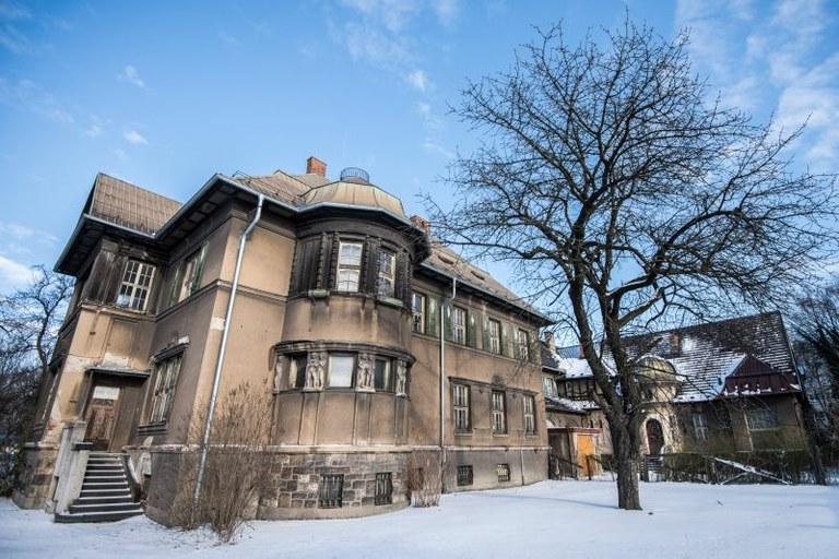 Grossmannovu vilu čeká rekonstrukce