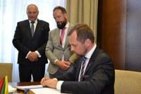 Litevský velvyslanec navštívil Ostravu