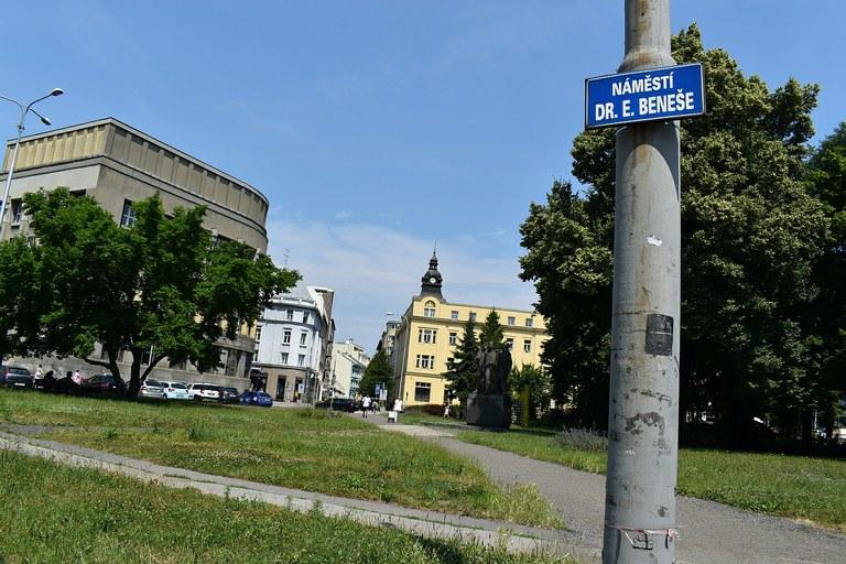 Město Ostrava hledá novou podobu Náměstí Edvarda Beneše