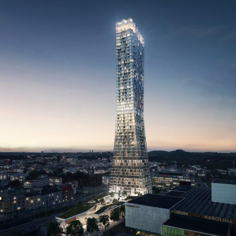 Město Ostrava jedná s investorem o okolnostech výstavby mrakodrapu Ostrava Tower