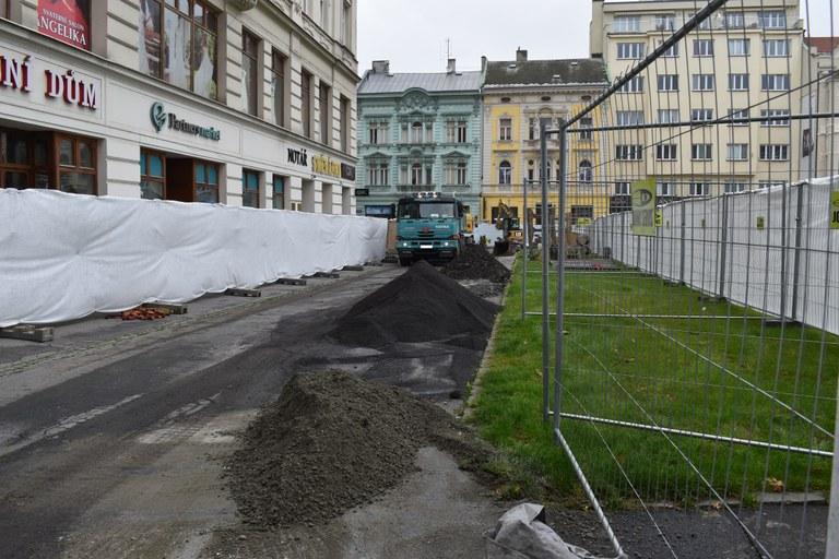 Město Ostrava zahajuje opravu proluky u Masarykova náměstí