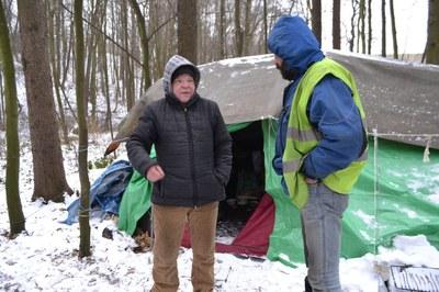 Město spustí zimní program pro lidi bez přístřeší