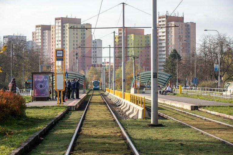 Modernizované tramvajové tratě budou zelené