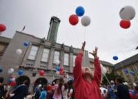 Muzejní noc odstartovaly balónky