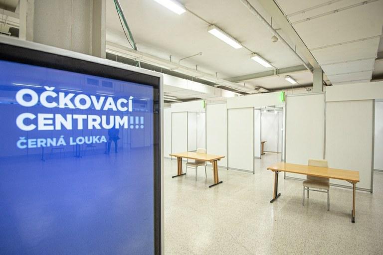Na Černé louce vzniká očkovací centrum — Ostrava