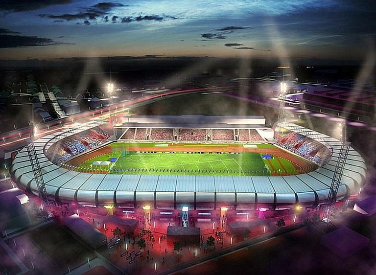 Na městském stadionu se začalo stavět