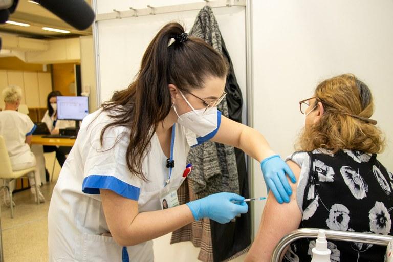 Na velkokapacitní očkovací centrum v Ostravě přispěly i soukromé společnosti