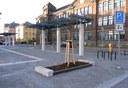 Pohled na zrekonstruované náměstí