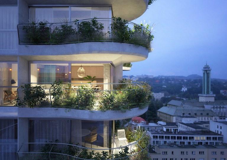 Návrh rekonstrukce mrakodrapu přináší nečekaně nový koncept domu