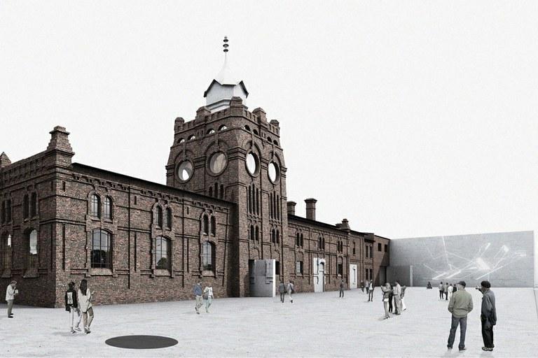 Městská jatka se promění v galerii moderního umění