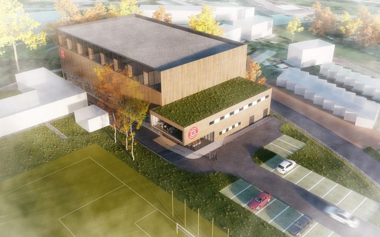 Nová sportovní hala v Třebovicích bude sloužit ligovým zápasům, spolkům i veřejnosti