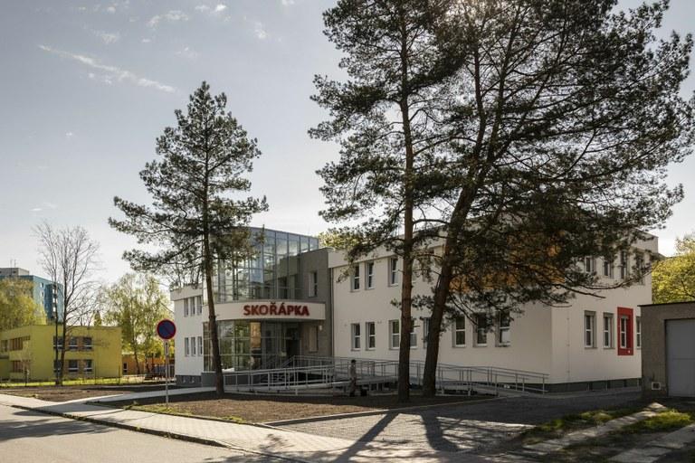 Nové Městské centrum uměleckých terapií Skořápka je hotové