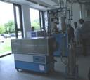 Jeden z přístrojů v novém paviloně.