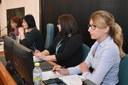 Náměstkyně Kateřina Šebestová na semináři s občany.