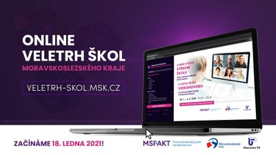 Online veletrh středních škol Moravskoslezského kraje