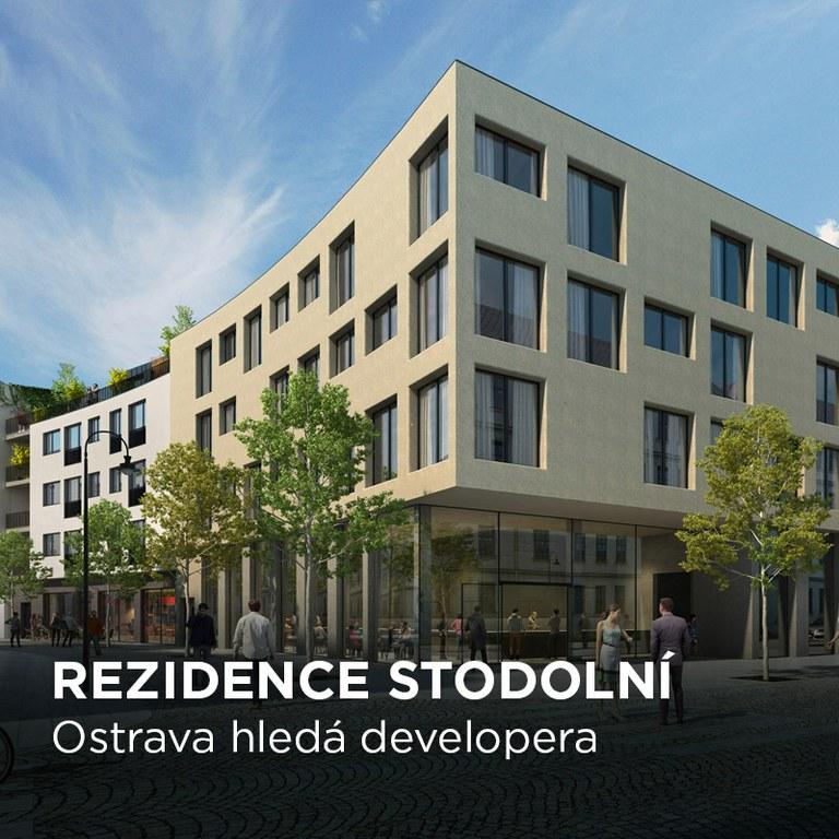 """Ostrava hledá investora pro """"Rezidenci Stodolní"""" poblíž historické budovy Jatek a stejnojmenné populární ulice"""