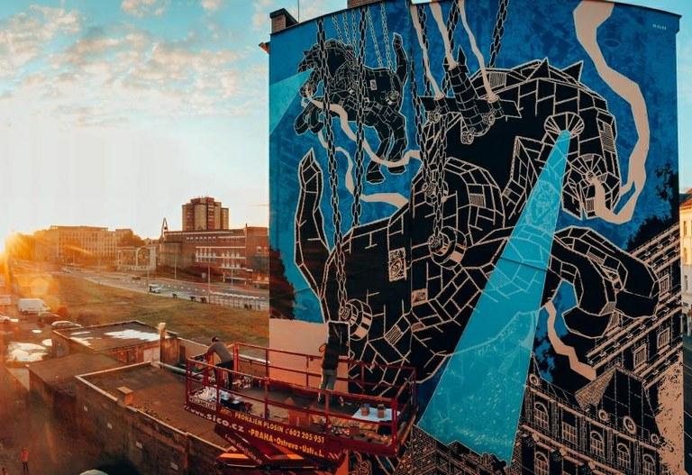 Ostrava hledá návrhy na místa vhodná k instalaci street artových děl