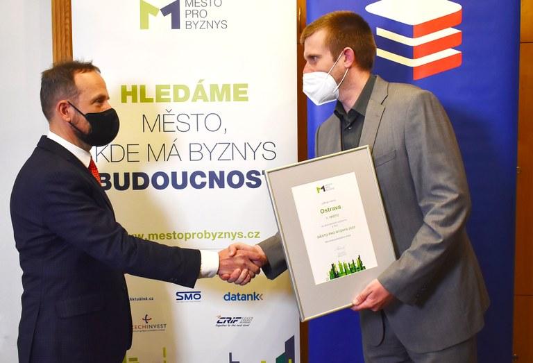 Ostrava je nejlepším městem pro byznys