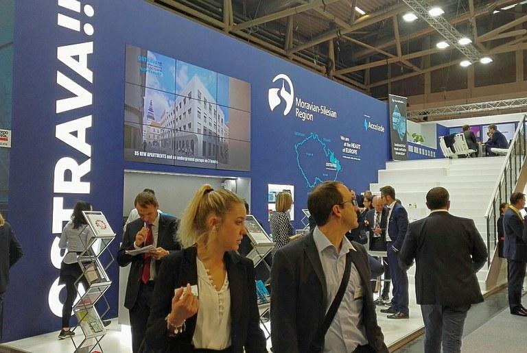 Ostrava se prezentuje na veletrhu Expo Real