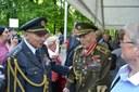 Váleční veteráni P. Vranský (vlevo) a M. Končický