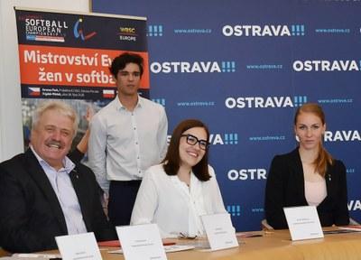Ostrava uvítá mistrovství Evropy v softbalu žen