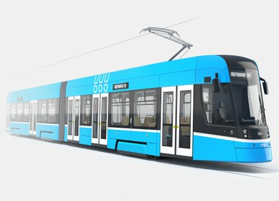 Ostrava už ví, jak budou vypadat nové tramvaje