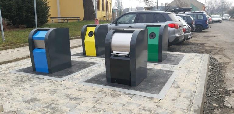 Ostrava vybuduje další podzemní kontejnery, nově vyzkouší i polopodzemní stanoviště