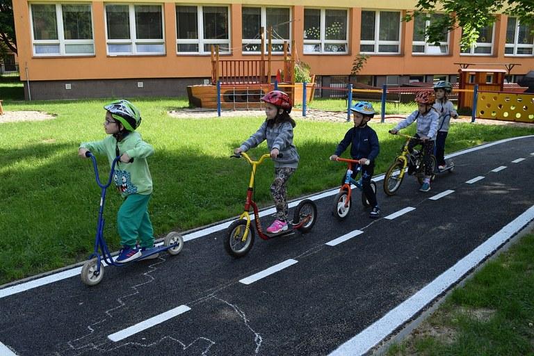 Ostravské děti se po návratu do škol mohou věnovat dopravní výchově