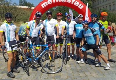 Ostravský tým absolvoval již popáté cyklo handy maraton