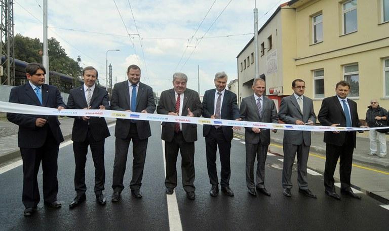 Otevření Nové Porážkové ulice pomůže dopravě v centru