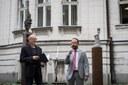 Primátor Tomás Macura (vpravo) si přeje, aby v Ostravě podobně upravených míst přibývalo.