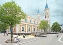 Náměstí Msgre Šrámka (vizualizace).