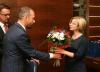 Přijetí Chargé d'Affaires ambasády USA