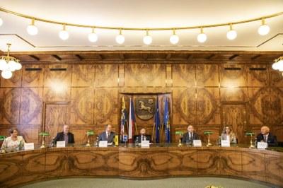 Od uzavření partnerství měst Ostravy a Drážďan letos uplynulo padesát let